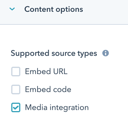embed field - source types